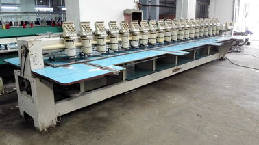 Multipurpose Computerised Used Barudan Embroidery Machine 20 Heads
